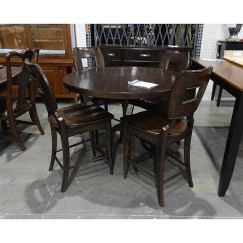 pub table sets clearance stanley furniture clearance 44 quot counter table