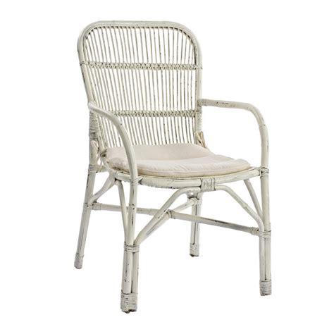 sedie finto rattan sedia con braccioli rattan bianco etnico outlet mobili