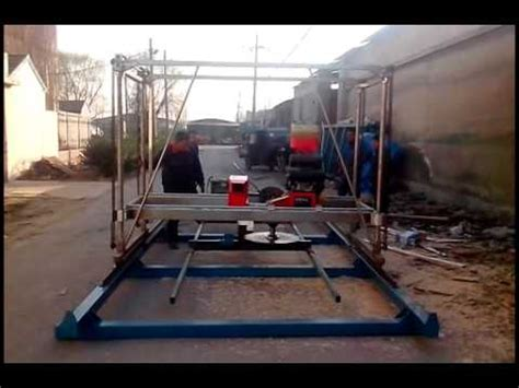 swing saw mill swing blade saw mill trial video from sosn youtube