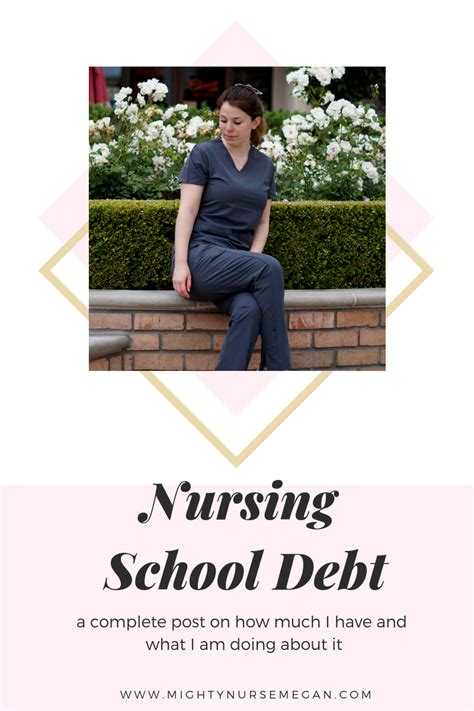 Nursing School Debt by Mighty Megan