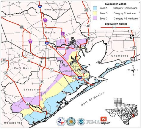 houston galveston map map of the galveston and houston area