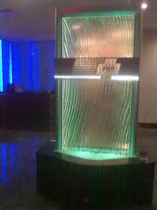 indoor waterfall home decor glass waterfall with led at fsr lakemary www visualartisan net modern indoor fountains