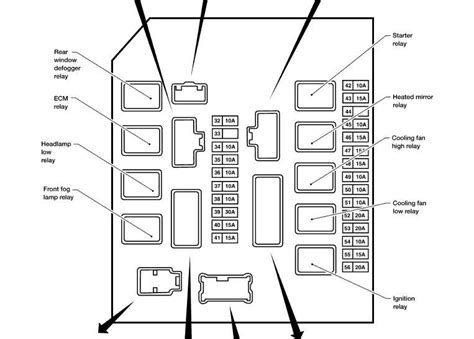 2007 xterra blower motor resistor location where is the blower motor relay on 2005 nissan xterra i looked at the diagram and do not