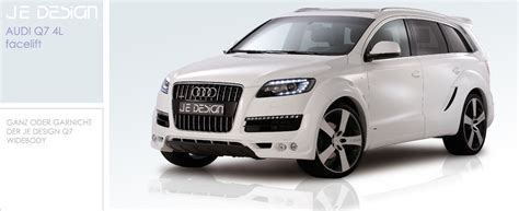 Audi Q7 Sto Stange by Audi Q7 S Line Facelift Styled By Je Design