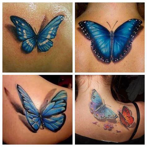 blue butterfly tattoo blue monarch butterfly collaboration golfian