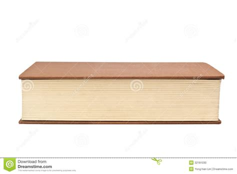 fore edge of a book stock photo image 32181030