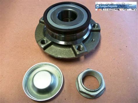wheel bearing kit hub abs sensor rear axle