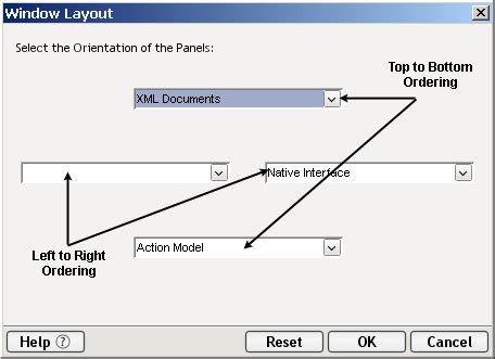layout components xml creating an xml map component
