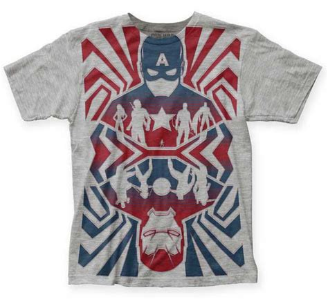 Kaos T Shirt Captain America 15 captain america civil war t shirt disneyexaminer