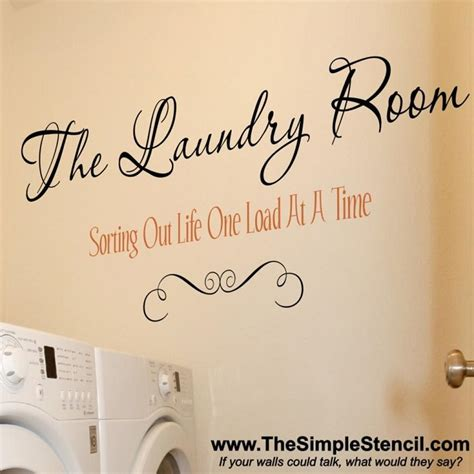 4 fresh new laundry room decals vinyl lettering amp stickers