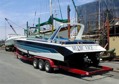 miami vice stinger boat miami vice on tnn offshoreonly