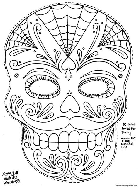 sugar skull coloring page printable sugar skull with roses coloring pages az coloring pages