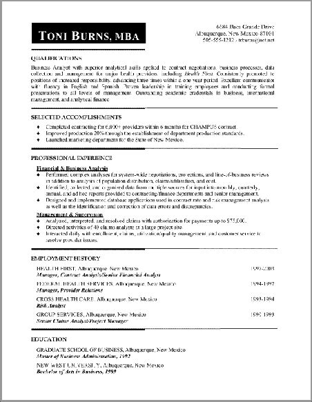 some exle of resume some sles of resume gallery creawizard