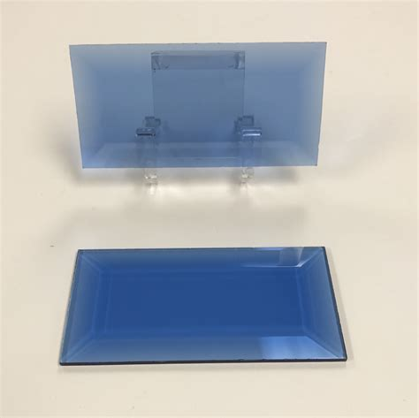 rectangular beveled glass top rectangle colored glass bevel 1 1 2 x 4 glass house