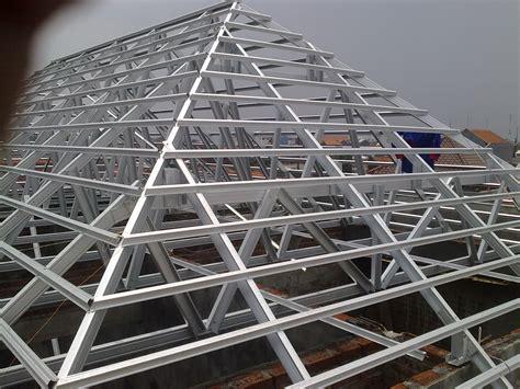 Bor Galvalum project rangka atap baja ringan galvalum di krembangan