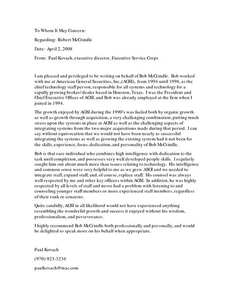 Letter Of Recommendation How write your own letter of recommendation best template