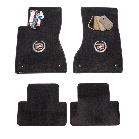 Cadillac Floor Mats by Cadillac Cts Sedan Jet Black Floor Mats 2003 2017