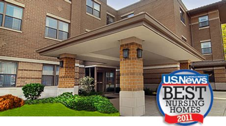 rehabilitation and health care center ranked 2011 best nursing home by u s news world