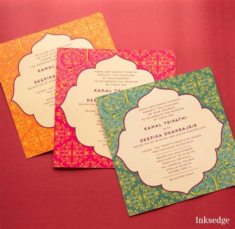 Print Wedding Cards India best 25 indian wedding cards ideas on indian