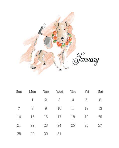 Calendar 2018 Dogs Calendar 2018