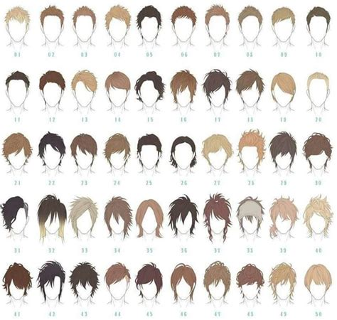 Anime Boy Hairstyles by Pics For Gt Chibi Boy With Curly Hair