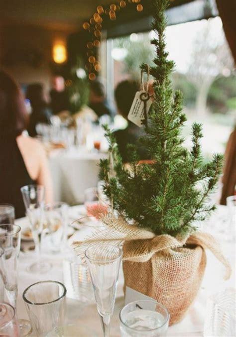7 Christmas Tree Inspired Winter Wedding Decoration Ideas
