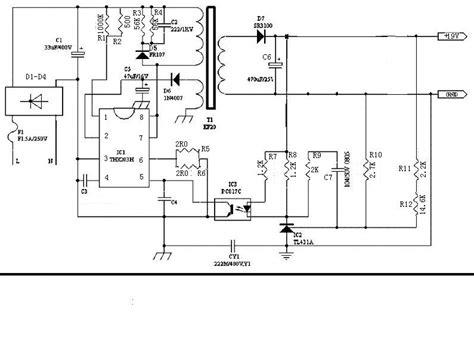 Thx203h 1 thx203h 天线接收合里的电源板 ic是thx203h 电路图如下 电源网
