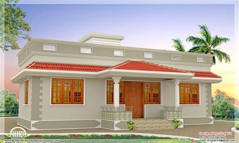 kerala single floor house modern house floor plans one
