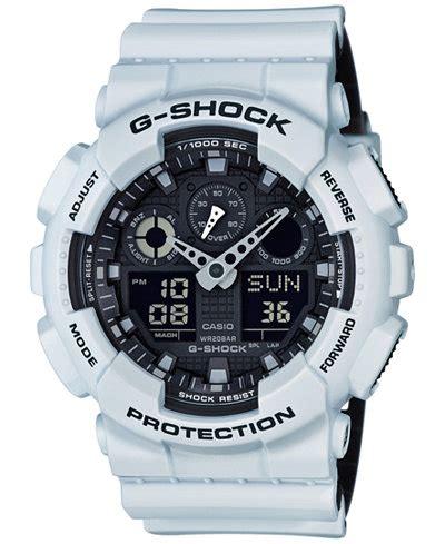 G Shock Ga 100 Black List White g shock s analog digital white resin