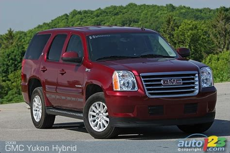gmc yukon hybrid 2008 list of car and truck pictures and auto123