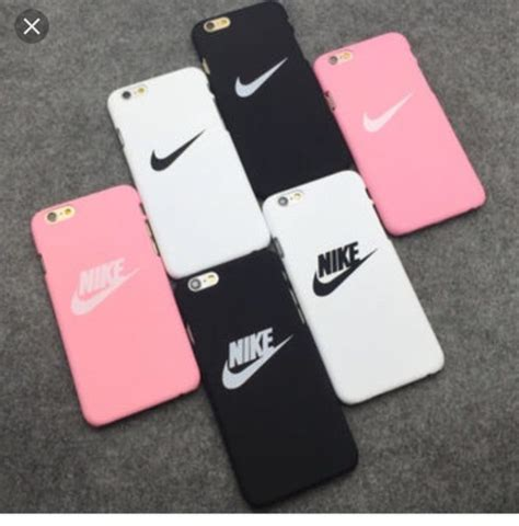 Iphone 6 6s Nike Black Polkadot Hardcase phone cover pink iphone iphone 6 nike nike