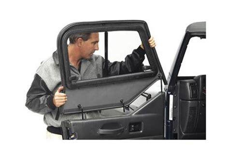 Jeep Half Door Uppers Bestop Jeep Door Sliders Bestop Soft Doors