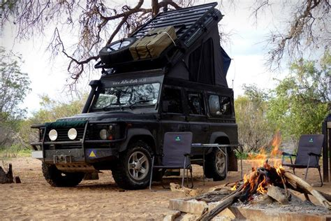 Rooftop Sleeper by Land Rover Defender Rooftop Sleeper Conversion Uncrate
