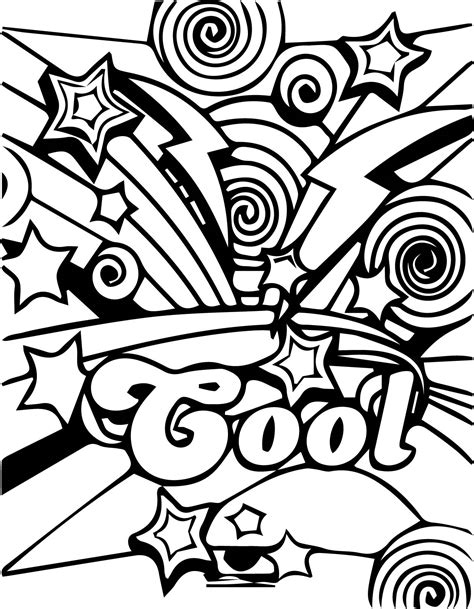 cool coloring cool coloring pages coloringsuite