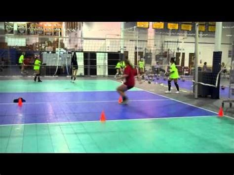 setter practice drills setter s footwork drills fitness volleyball pinterest