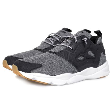 reebok shop furylite refine black shoe