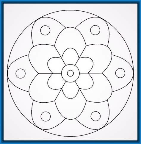 imagenes de mandalas fasiles las bonitas mandalas para pintar faciles dibujos de mandalas