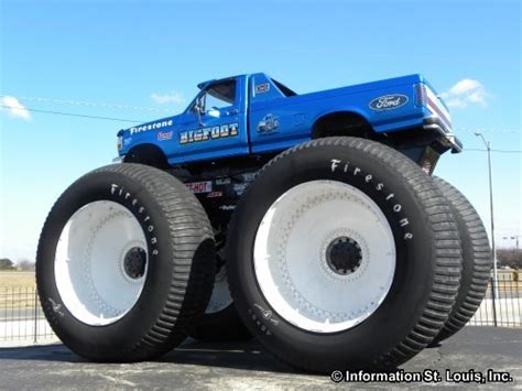 monster trucks bigfoot bigfoot 4x4 in st louis county