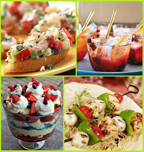 party food 24 summer party food ideas memorial day 4th of july