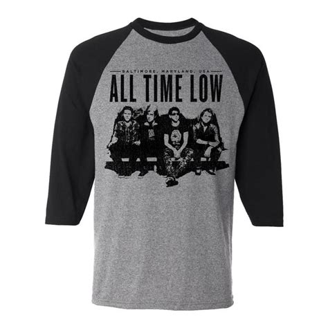 All Time Low Shirt all time low back to the future hearts 2015 tour