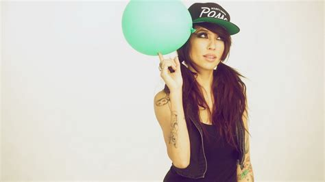 wallpaper girl swag a girl and a balloon swag wallpapers and images