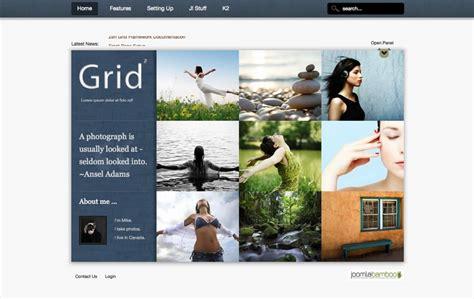 Template Joomla Grid | grid2 joomla template joomla magazine template