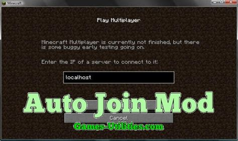 Minecraft Auto Mod Download by Auto Join Mod For Minecraft 1 13 2 1 13 1 1 12 2 1 11 2 1