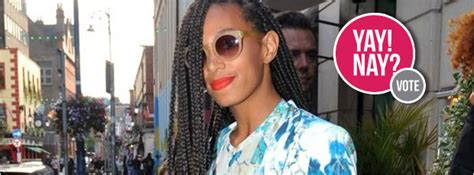Yay Or Nay Wednesday by Yay Or Nay Solange Knowles Does Florals Stripes And Leather