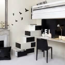 Furniture Interior by Stylish Home Black And White Interiors