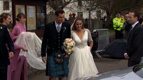 andy murray wedding tennis star andy murray says i do cnn video