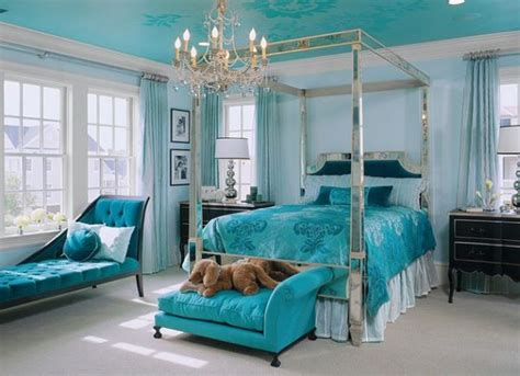 teal and silver bedroom teal bedroom ideas using glamorous silver decor with tufted chaise lounge chair and