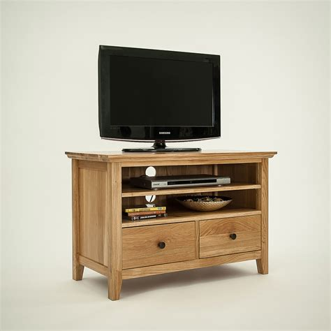 Hereford Rustic Oak Small TV Unit. Shop Online Today