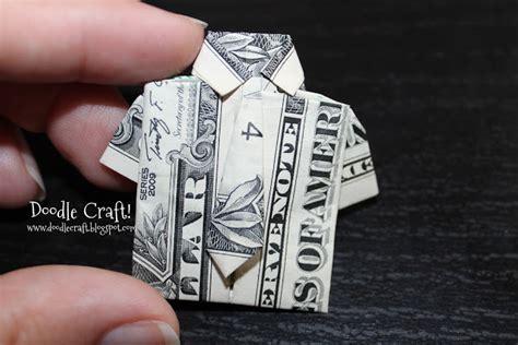 Dollar Bill Origami Shirt And Tie - doodlecraft origami money folding shirt and tie