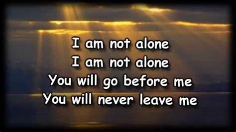 Hoodie Walker 1 Im Not Alone i am not alone kari jobe worship with lyrics